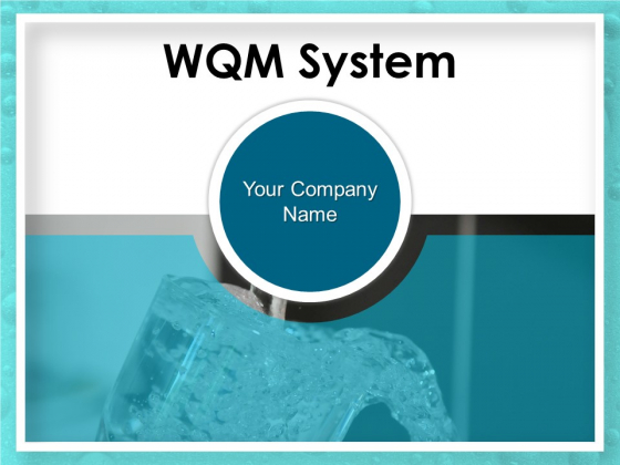 WQM System Ppt PowerPoint Presentation Complete Deck With Slides