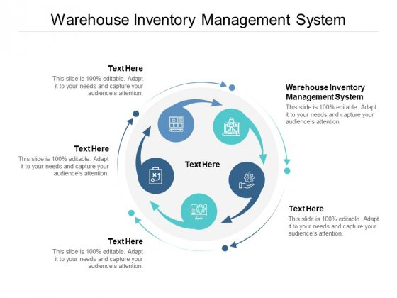 Warehouse Inventory Management System Ppt PowerPoint Presentation Ideas Background Designs Cpb