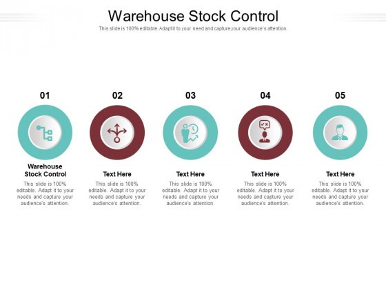 Warehouse Stock Control Ppt PowerPoint Presentation Gallery Slide Download Cpb Pdf