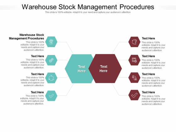 Warehouse Stock Management Procedures Ppt PowerPoint Presentation Icon Professional Cpb Pdf