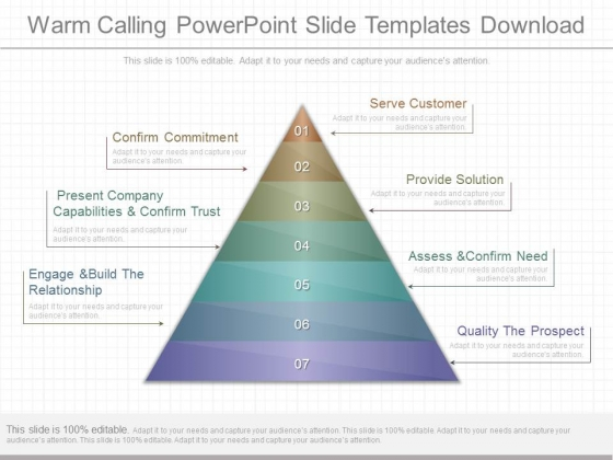 Warm Calling Powerpoint Slide Templates Download