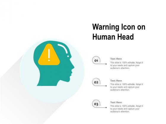 Warning_Icon_On_Human_Head_Ppt_PowerPoint_Presentation_File_Formats_PDF_Slide_1