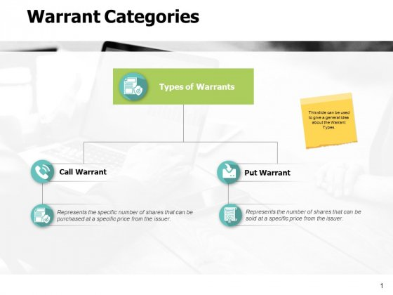 Warrant Categories Strategy Ppt PowerPoint Presentation Outline Template