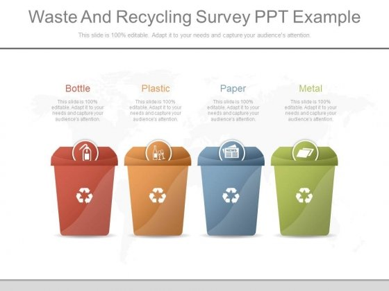 Waste And Recycling Survey Ppt Example