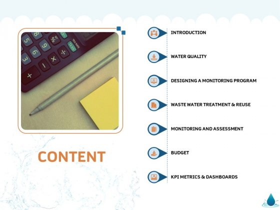 Water NRM Content Ppt Infographics Shapes PDF