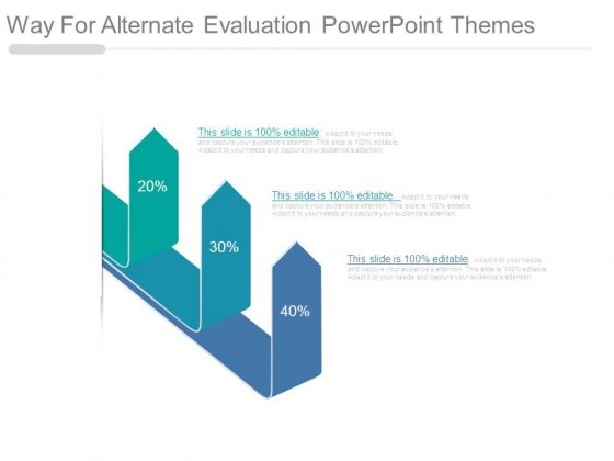Way For Alternate Evaluation Powerpoint Themes