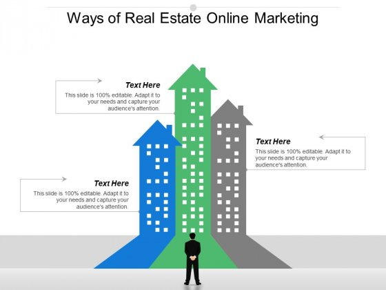 Ways Of Real Estate Online Marketing Ppt PowerPoint Presentation Professional Summary
