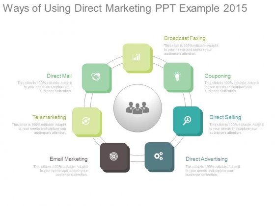 Ways Of Using Direct Marketing Ppt Example 2015