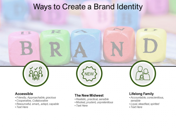 Ways To Create A Brand Identity Ppt PowerPoint Presentation Gallery