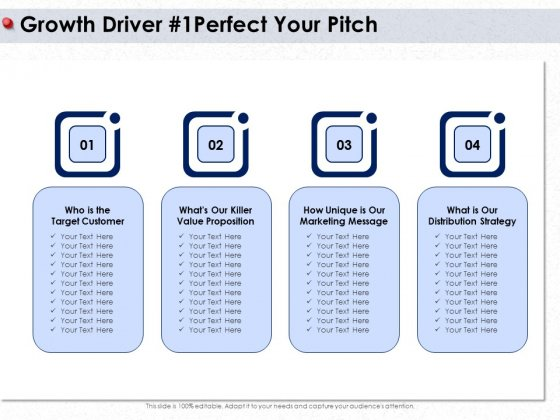 Ways To Design Impactful Trading Solution Growth Driver 1 Perfect Your Pitch Ppt Gallery Templates PDF