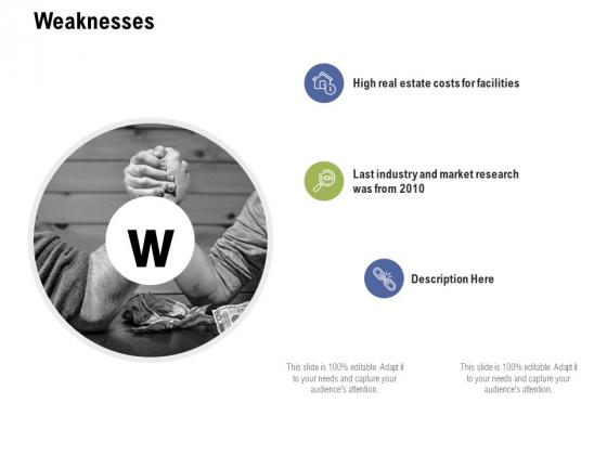 Weaknesses Ppt PowerPoint Presentation Infographics Portfolio