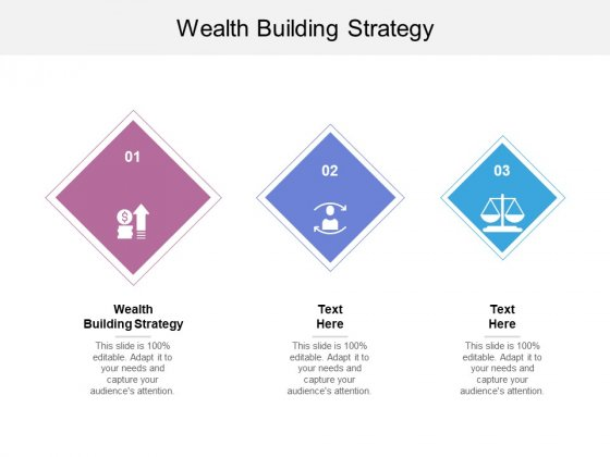 Wealth Building Strategy Ppt PowerPoint Presentation Slides Structure Cpb