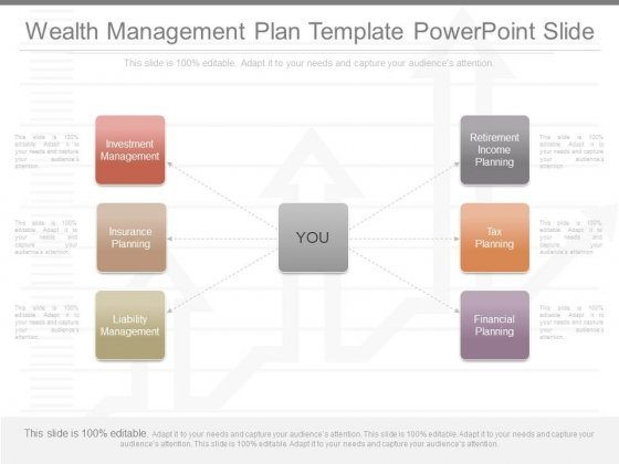 Wealth Management Plan Template Powerpoint Slide