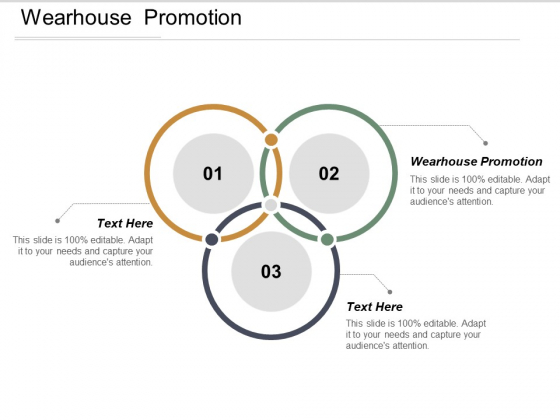 Wearhouse Promotion Ppt PowerPoint Presentation Show Templates Cpb