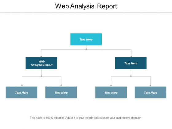 Web Analysis Report Ppt PowerPoint Presentation Styles Skills Cpb