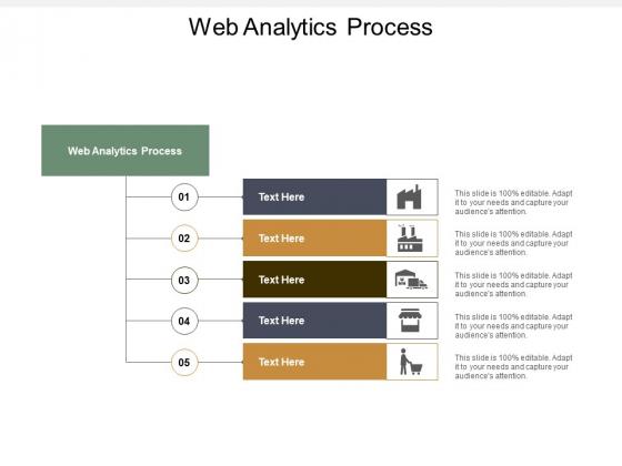 Web Analytics Process Ppt PowerPoint Presentation Summary Format Ideas Cpb