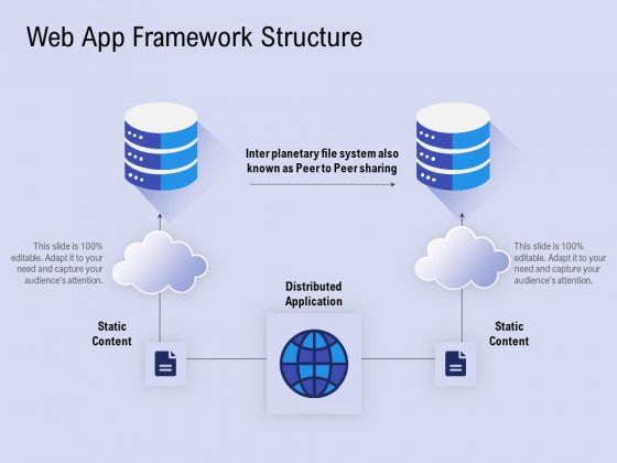 Web App Framework Structure Ppt PowerPoint Presentation Professional Brochure