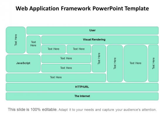 Web Application Framework PowerPoint Template Ppt PowerPoint Presentation Professional Infographics PDF