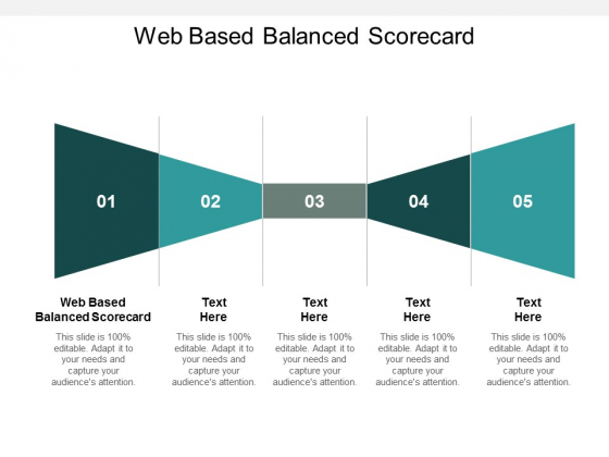 Web Based Balanced Scorecard Ppt PowerPoint Presentation Layouts Slide Download Cpb