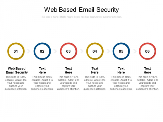 Web Based Email Security Ppt PowerPoint Presentation Infographics Inspiration Cpb Pdf
