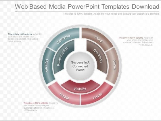 Web Based Media Powerpoint Templates Download