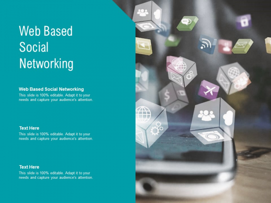 Web Based Social Networking Ppt PowerPoint Presentation Pictures Demonstration Cpb