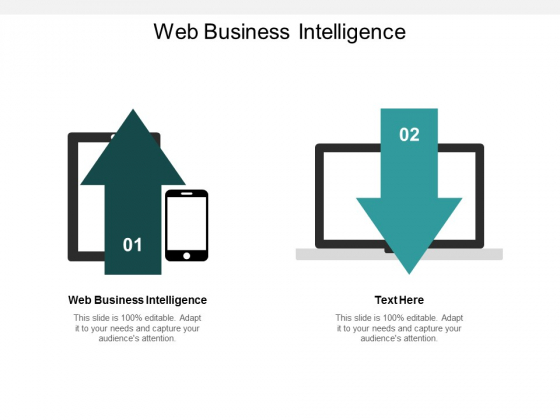 Web Business Intelligence Ppt PowerPoint Presentation Gallery Microsoft Cpb