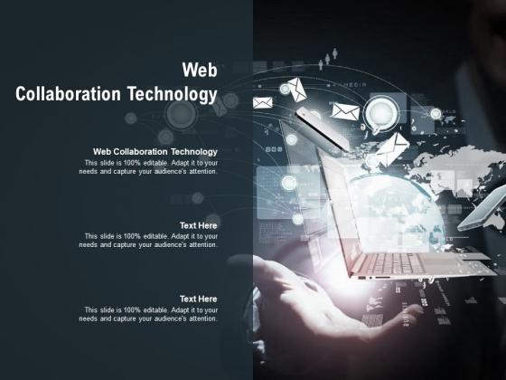 Web Collaboration Technology Ppt PowerPoint Presentation Styles Portrait Cpb Pdf