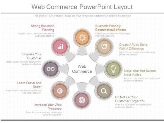 Web Commerce Powerpoint Layout
