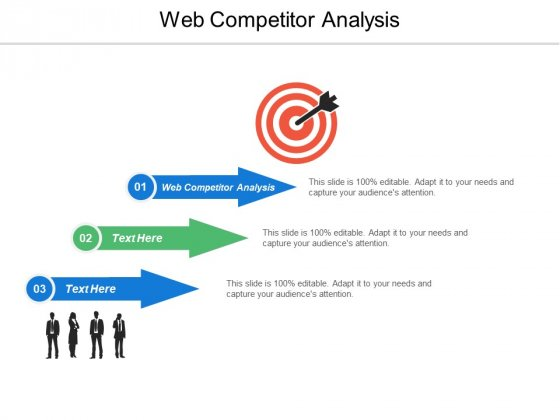 Web Competitor Analysis Ppt PowerPoint Presentation Outline Diagrams Cpb