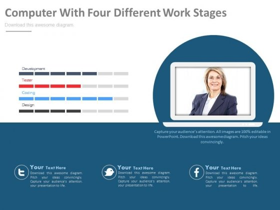 Web Conferencing And Video Chat Software Development Powerpoint Template