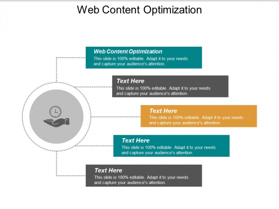 Web Content Optimization Ppt PowerPoint Presentation Pictures Shapes Cpb