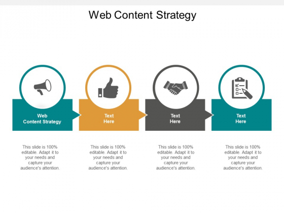 Web Content Strategy Ppt PowerPoint Presentation Portfolio Background Designs Cpb