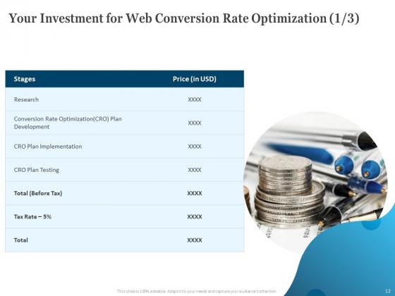 Web_Conversion_Rate_Optimization_Ppt_PowerPoint_Presentation_Complete_Deck_With_Slides_Slide_12