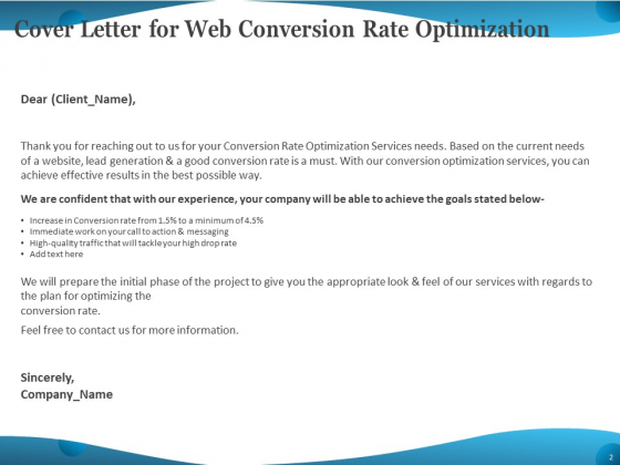 Web_Conversion_Rate_Optimization_Ppt_PowerPoint_Presentation_Complete_Deck_With_Slides_Slide_2