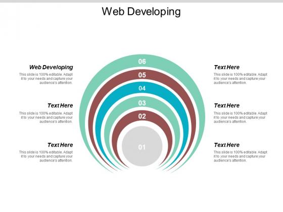 Web Developing Ppt PowerPoint Presentation Model Master Slide Cpb