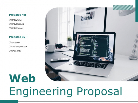 Web Engineering Proposal Ppt PowerPoint Presentation Complete Deck With Slides
