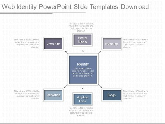 Web Identity Powerpoint Slide Templates Download
