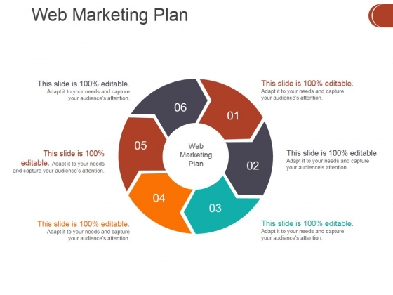 Web Marketing Plan Ppt PowerPoint Presentation Outline Format