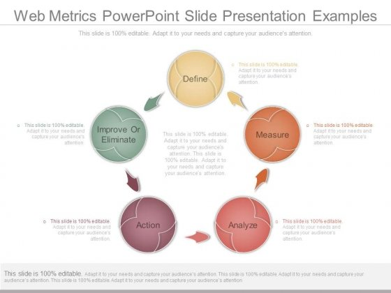 Web Metrics Powerpoint Slide Presentation Examples