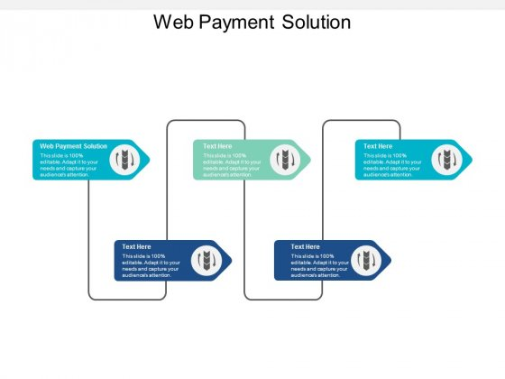 Web Payment Solution Ppt PowerPoint Presentation Summary Icon Cpb
