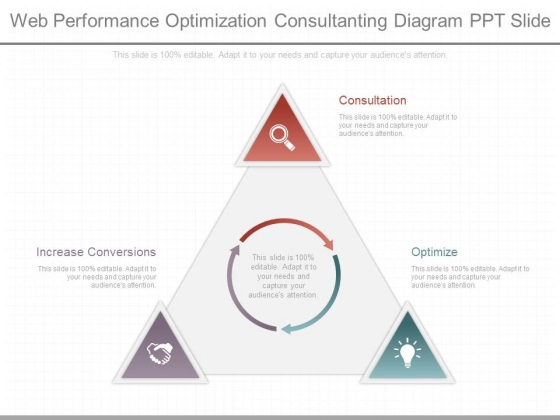Web Performance Optimization Consultanting Diagram Ppt Slide