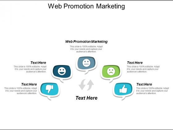 Web Promotion Marketing Ppt Powerpoint Presentation Templates Cpb