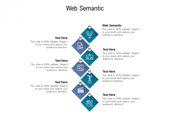 Web Semantic Ppt PowerPoint Presentation Portfolio Layout Cpb Pdf