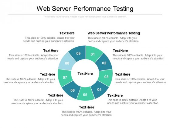 Web Server Performance Testing Ppt PowerPoint Presentation Inspiration Design Ideas Cpb