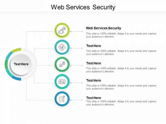 Web Services Security Ppt PowerPoint Presentation Styles Gallery Cpb