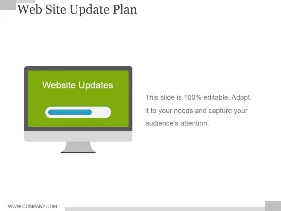 Web Site Update Plan Ppt PowerPoint Presentation Gallery