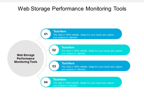 Web Storage Performance Monitoring Tools Ppt PowerPoint Presentation Infographic Template Format Ideas Cpb