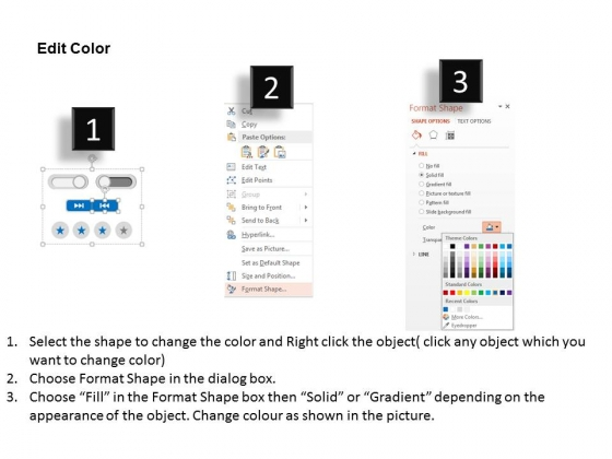 Web_User_Interface_With_On_Off_Buttons_And_Elements_Powerpoint_Template_3