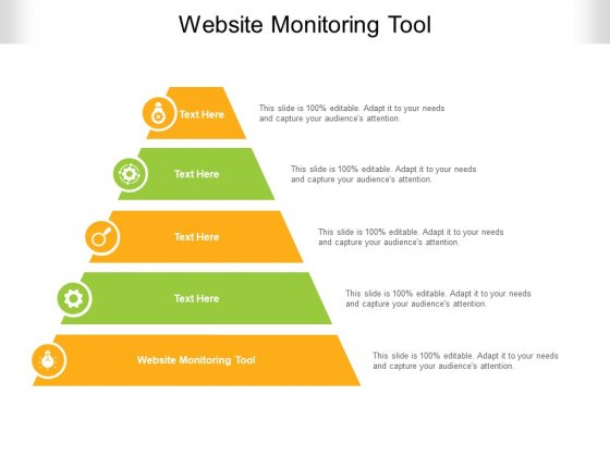 Website Monitoring Tool Ppt PowerPoint Presentation Slides Templates Cpb Pdf